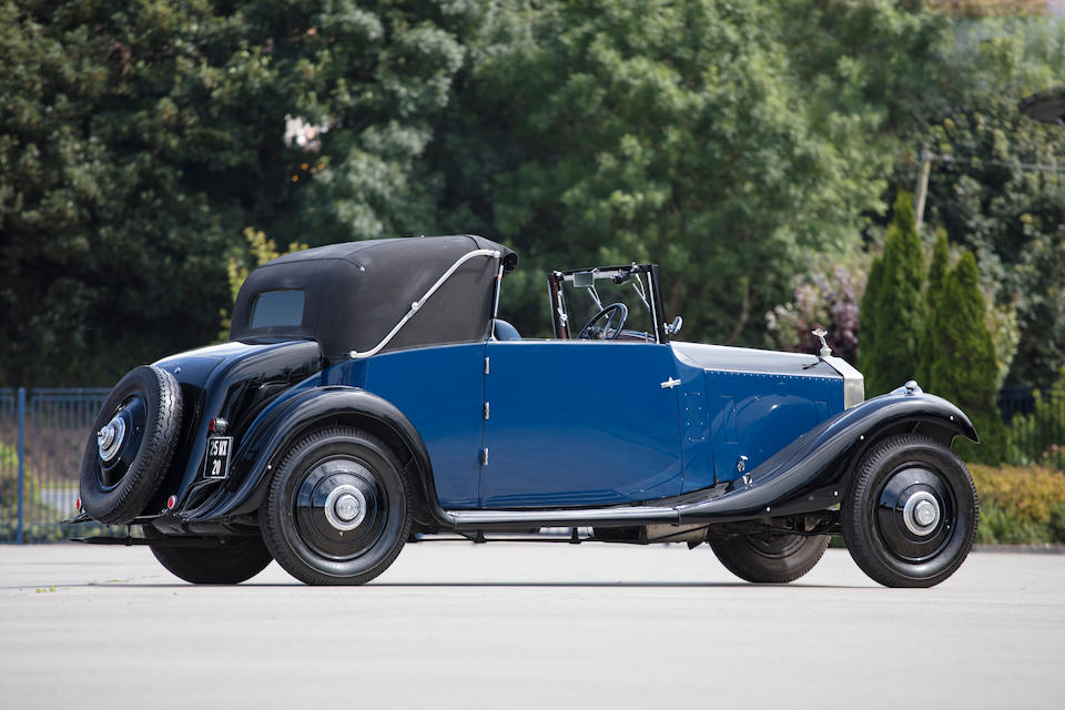First owned by Sir Edwin Lutyens,1925 Rolls-Royce 20hp Sedanca Coupé  Chassis no. GPK70