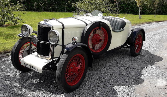 1931 Riley Nine Special  Chassis no. 6012701