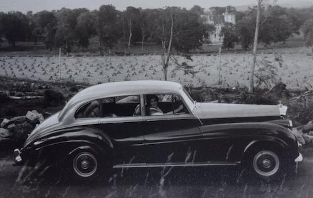 Bonhams : 1953 Bentley R-Type Saloon Chassis no  B372SR