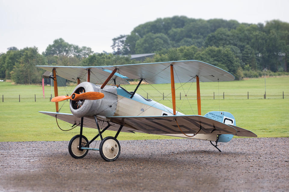 c. 1990 Sopwith Dove Two-seat Biplane Reconstruction  Chassis no. 3004/1