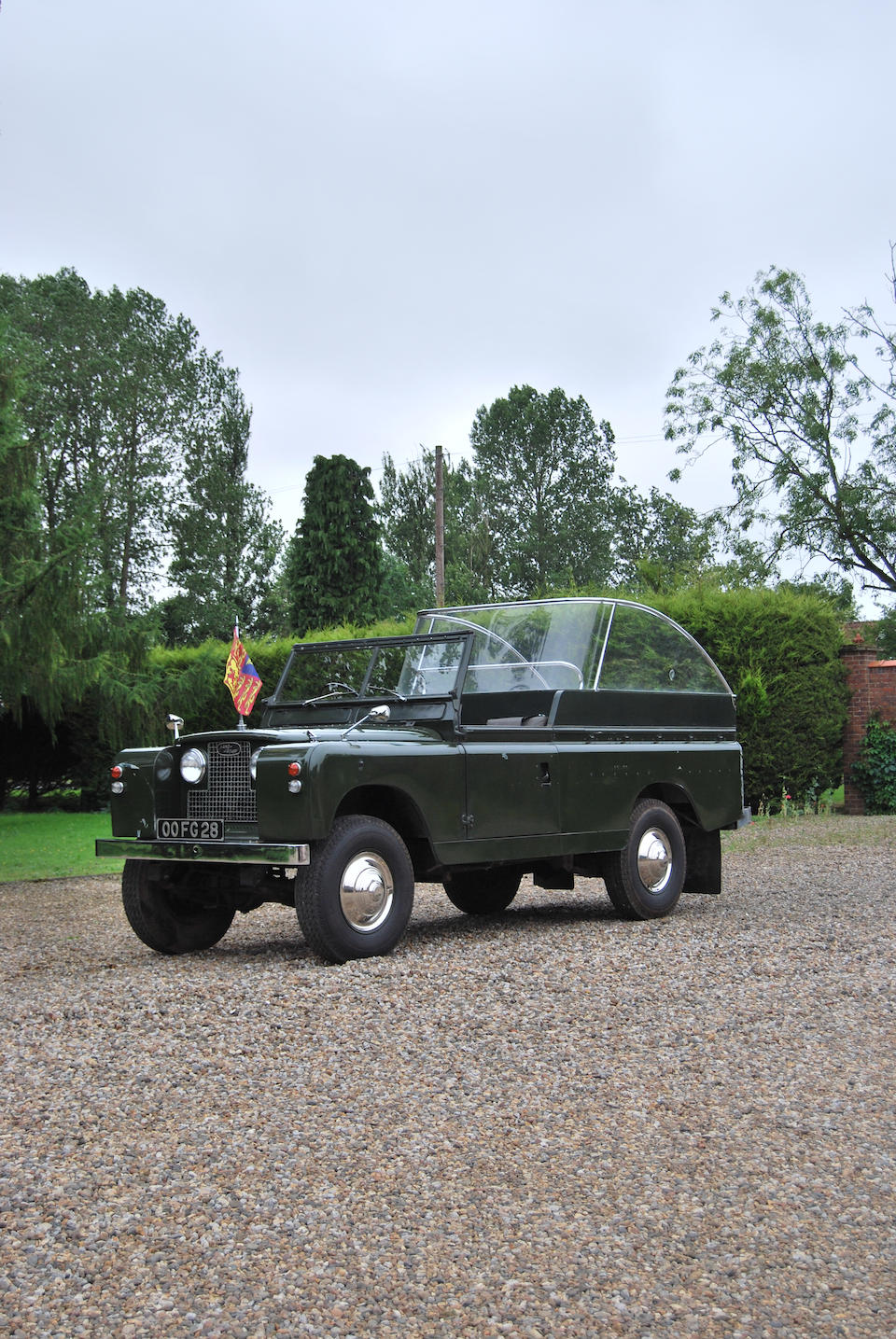 """1968 Land Rover Series IIA 109"""" 4x4 Ceremonial Vehicle  Chassis no. 25113641D"""