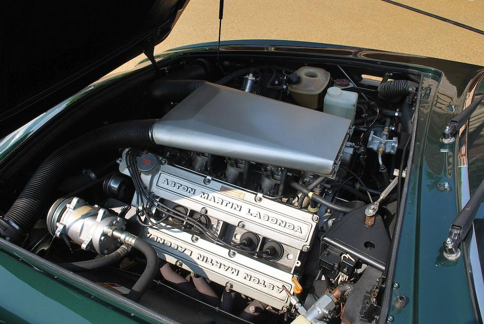 1989 Aston Martin V8 Vantage Volante X-Pack Convertible  Chassis no. SCFCV81V2KTR15779