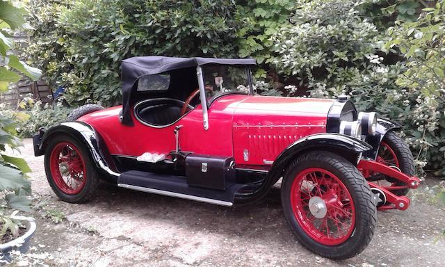 An electrically-powered '1918 Stutz Bearcat Roadster' child's car,
