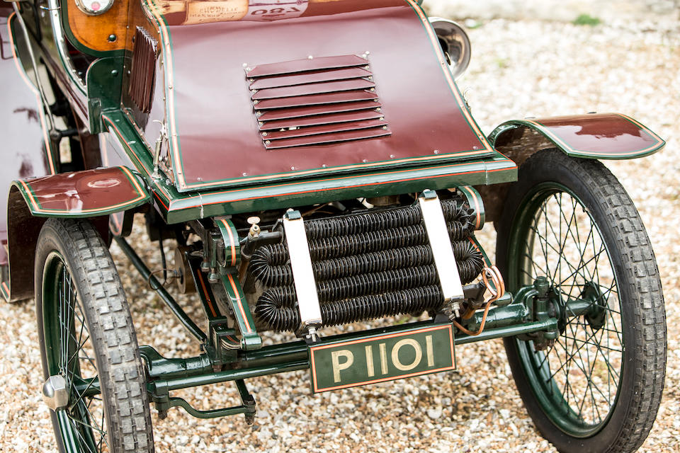 1901 International Charette 6hp Single-Cylinder Four-Seat Rear-Entrance Tonneau  Chassis no. 140