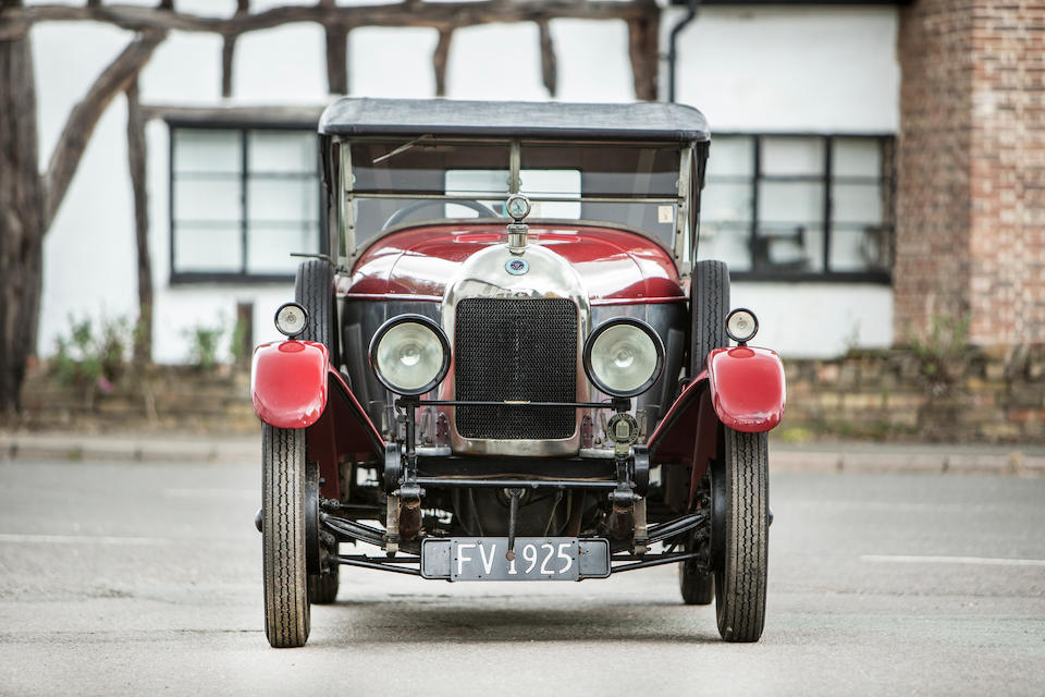 c.1925 Morris/MG 11.9hp Super Sports Two-seater with Dickey  Chassis no. 92829