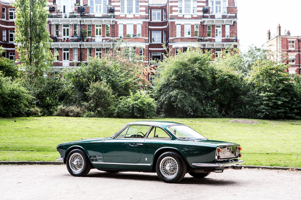 The 1963 Earls Court Motor Show car ,1963 Maserati 3500 GTI Sebring 'Series I' Coupé   Chassis no. AM101 01817