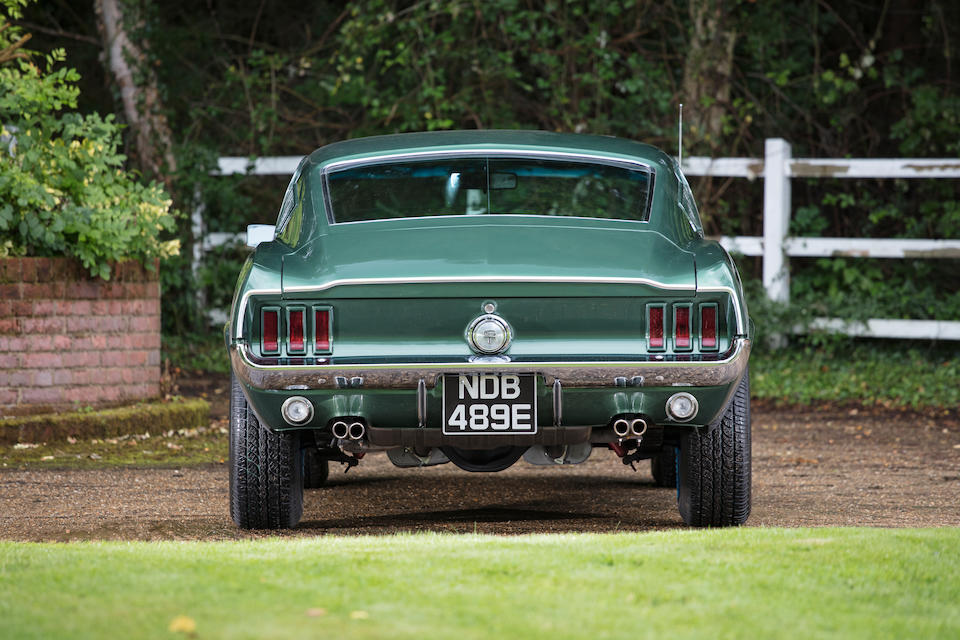 1967 Ford  Mustang GT 390 Fastback Coupé  Chassis no. 7R02S179334
