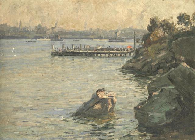 Sir John William Ashton (Australian, 1881-1963) Sydney Harbour