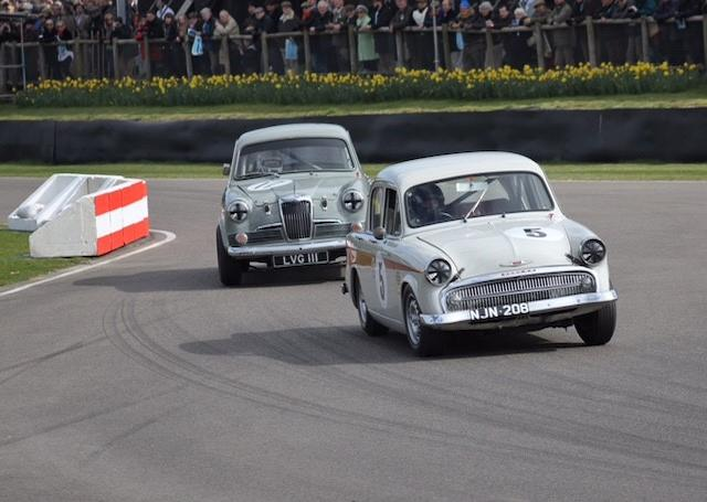 1957 Hillman Minx De Luxe Competition Saloon  Chassis no. 1629865HHS0