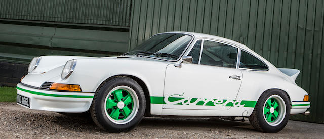 1973 Porsche 911 Carrera RS Touring Coupé  Chassis no. 9113600936