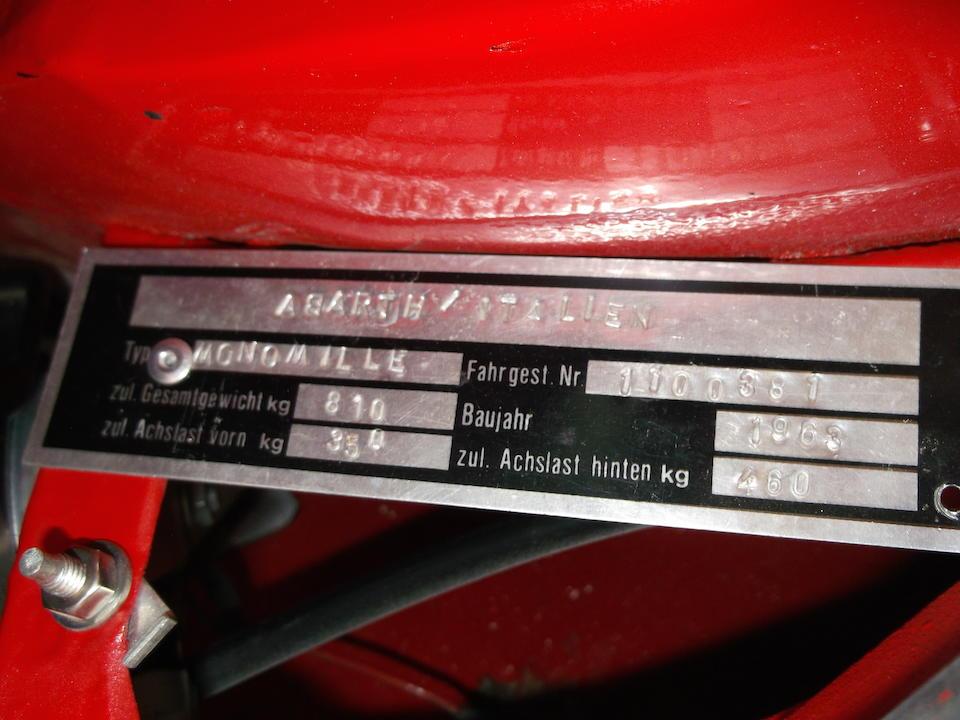 1963 FIAT-Abarth  Monomille GT Coupé