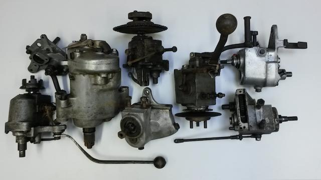 Vintage motorcycle and other gearboxes,  ((Qty))