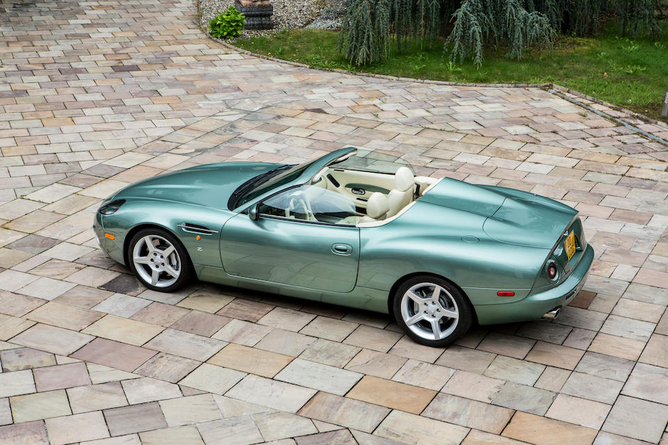 Number '23' of only 99 examples built,2003  Aston Martin  DB AR1 Roadster  Chassis no. SCFAE62383K800023