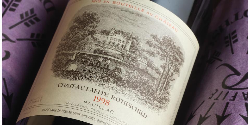 Château Lafite Rothschild 1998, Pauillac 1er Grand Cru Classé (12)