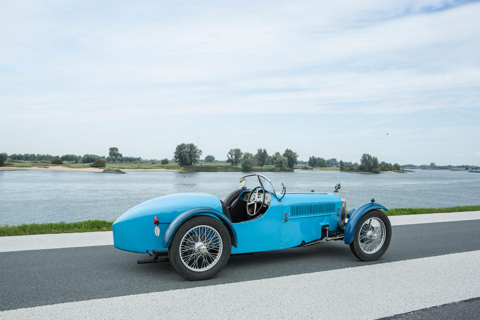 Ex-Deutsches Automuseum Schloss Langenburg,1928  Rally  ABC Sports  Chassis no. 600 Engine no. DS-2452