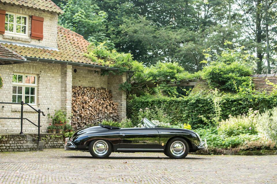 1957 Porsche 356A 1600 Speedster  Chassis no. 83456