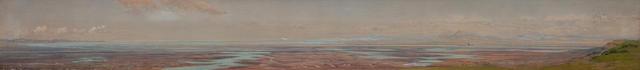 W*C*E* (British, 19th Century) 15 x 137 cm. (5 7/8 x 53 15/16 in.)