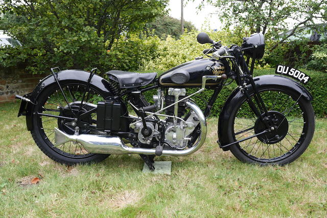 1930 Rudge 499cc Ulster Frame no. 39991 Engine no. 2733