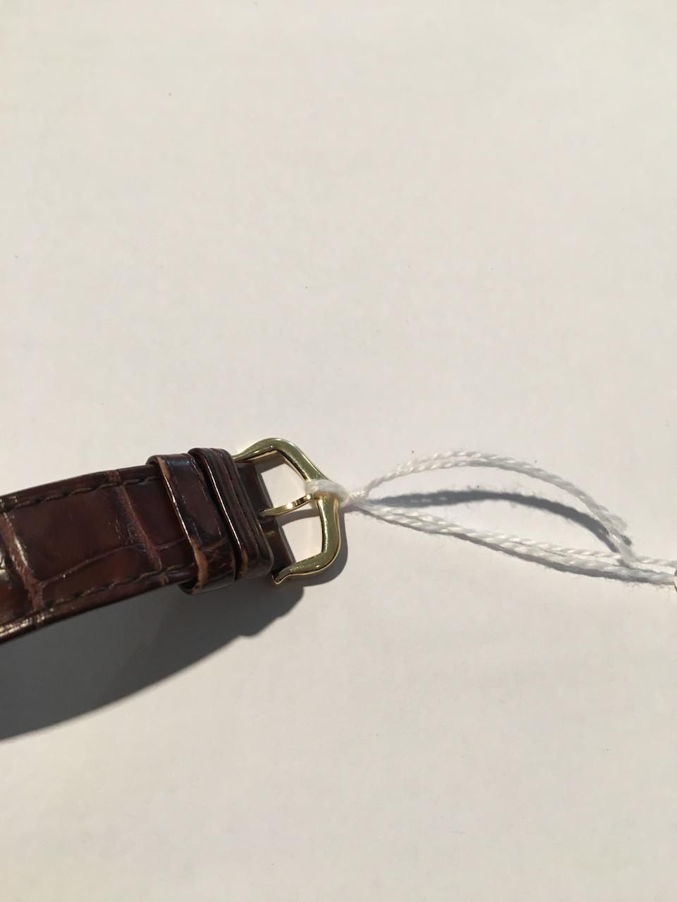 Cartier. An 18K gold automatic wristwatch  Ballon Bleu, Ref: 3002, Circa 2010