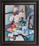 Samuel John Peploe RSA (British, 1871-1935) Still life with Roses in a Chinese Vase 51 x 41 cm. (20 1/16 x 16 1/8 in.)