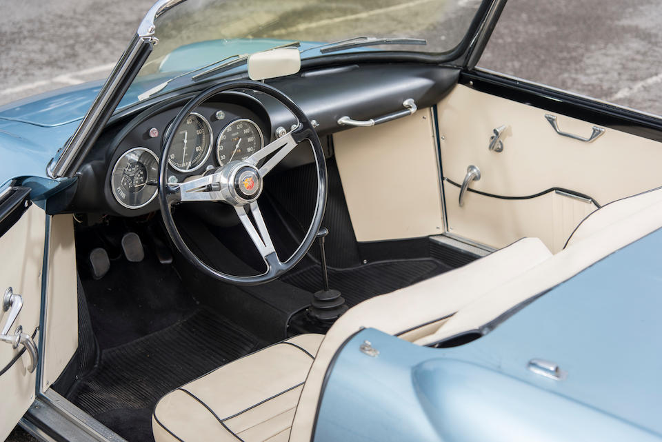 1956 Abarth  750 Allemano Spyder  Chassis no. 640586
