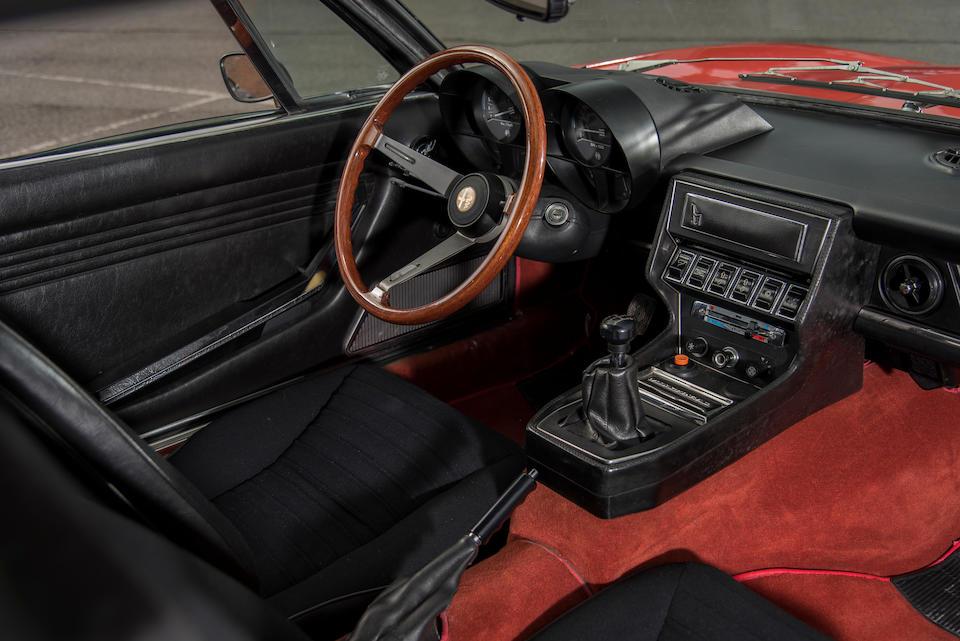 1973  Alfa Romeo  Montreal Coupé  Chassis no. AR 1426316
