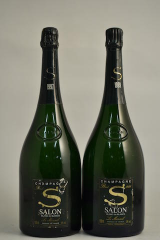 Bonhams : Salon Blanc de Blancs 1997 (1 magnum) Salon Blanc de ...