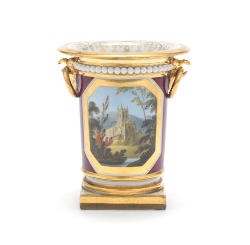 A Flight Barr and Barr spill vase, circa 1825