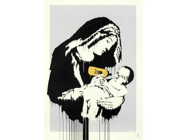 Banksy (British, born 1975) Toxic Mary Screenprint in colours, 2003, on wove, numbered 268/600 in pencil, printed and published by Pictures on Walls, London, with their blindstamp, with full margins, 700 x 500mm (27 1/2 x 19 5/8in)(SH)
