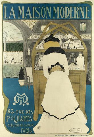 Maurice Biais (French, 1875-1926) LA MAISON MODERNE, 1898