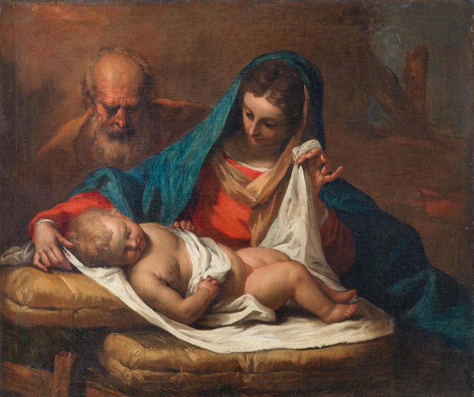 Sebastiano Ricci (Belluno 1659-1734 Venice) The Holy Family