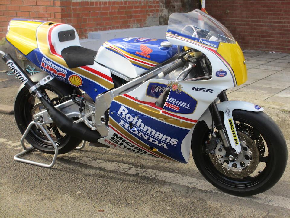 1990 Honda VRP-RS500 Grand Prix Racing Motorcycle Engine no. RS500 RE3035