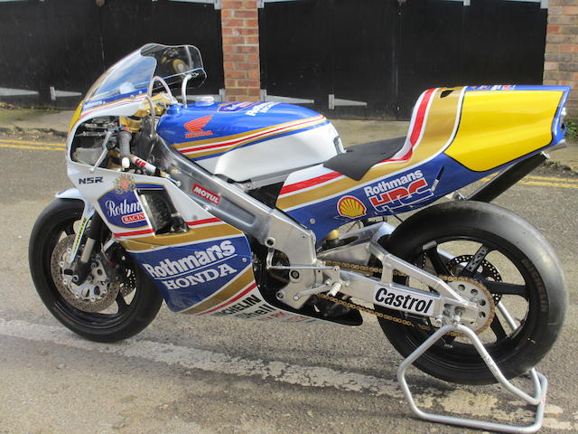 1990 Honda VRP-RS500 Grand Prix Racing Motorcycle Engine no. RS500 RE3035