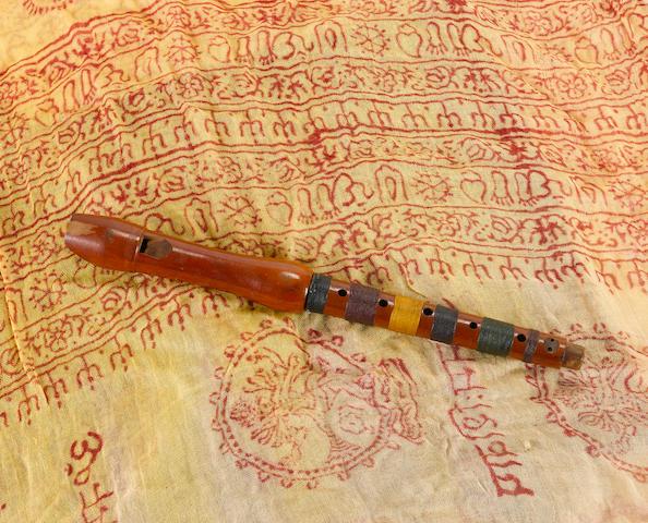 Jimi Hendrix: A Schreiber Sonata wooden recorder,