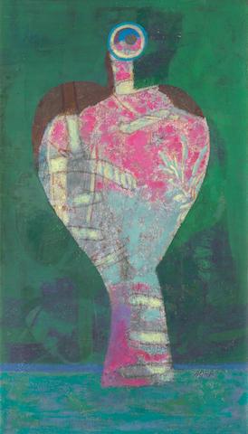 Eileen Agar (British, 1899-1991) Ondine 60.9 x 35.6 cm. (24 x 14 in.) (Painted in 1947)