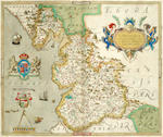 SAXTON (CHRISTOPHER) An Atlas of England and Wales, FIRST EDITION, [Christopher Saxton], 1579