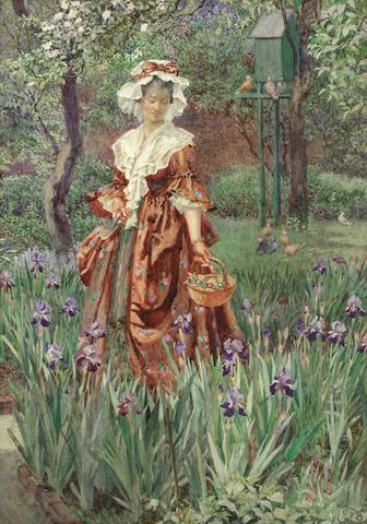 Eleanor Fortescue-Brickdale RWS (British, 1872-1945) Madame Placid