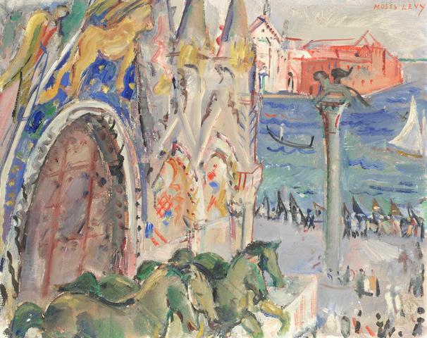 Moses Levy (Italian, 1885-1968) St Marks, Venice