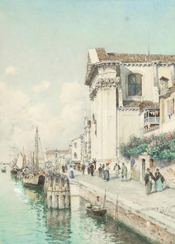 Federico Del Campo (Italian, 1878-1912) 'Venezia'