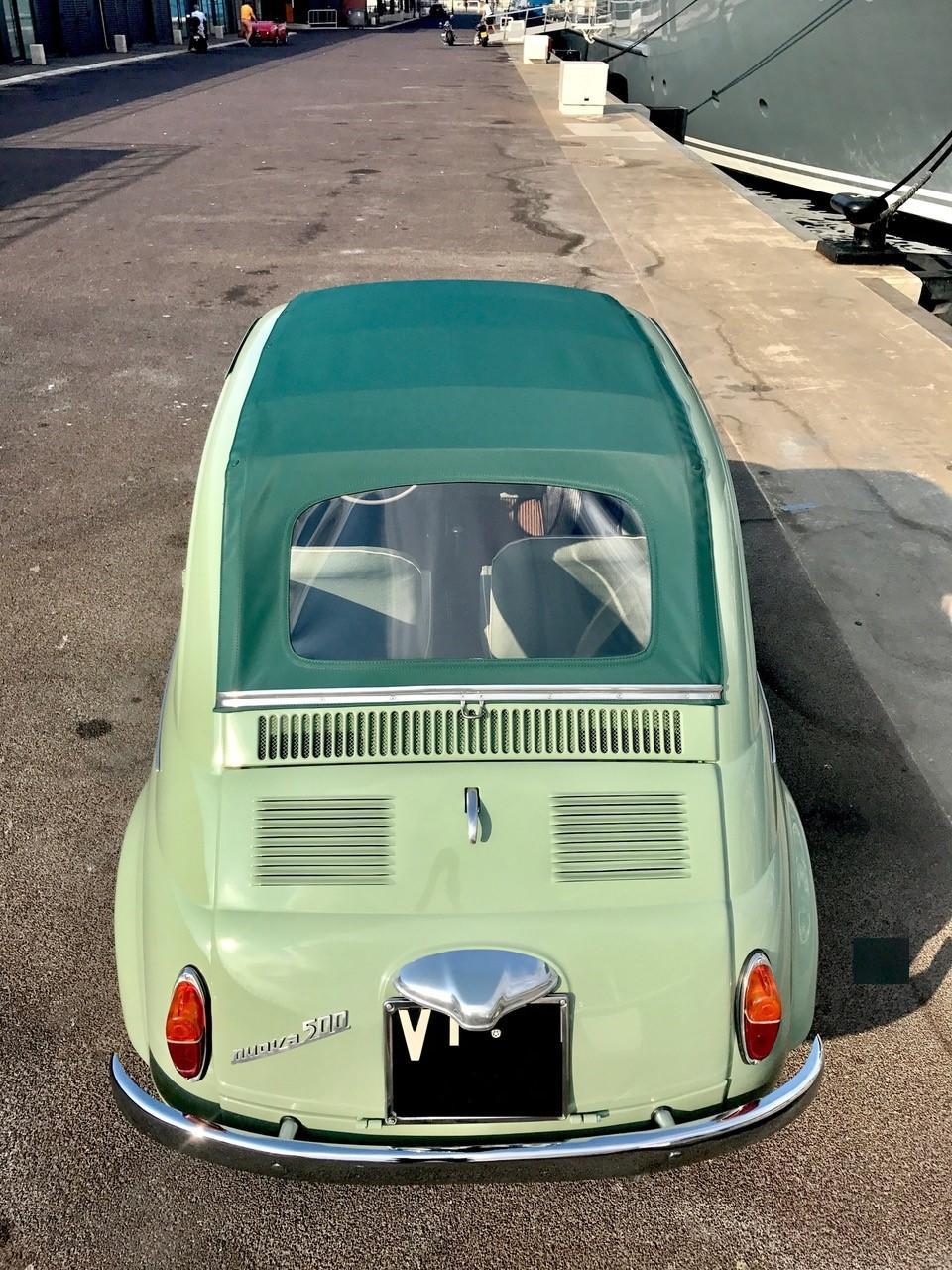 Bonhams 1957 Fiat 500n