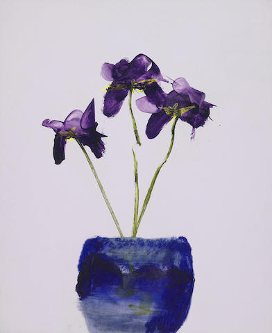 Sidney Nolan (1917-1992) Irises