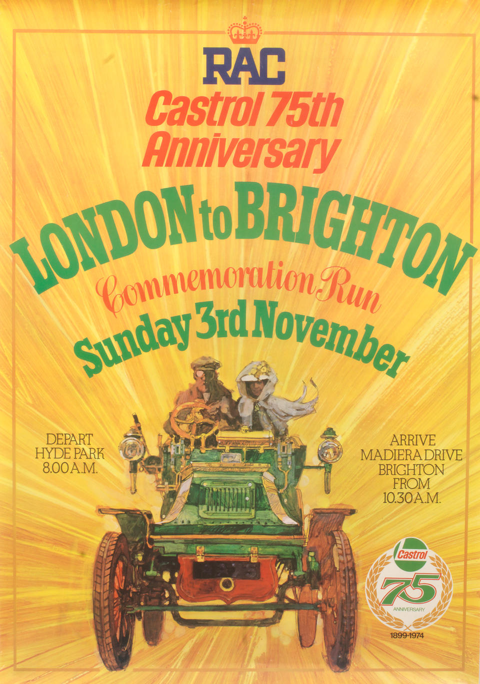 London-to-Brighton Veteran Car Run programmes and posters,   ((8))