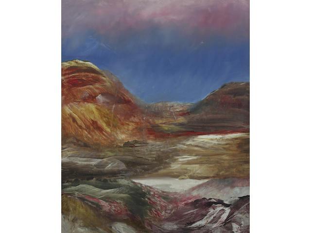 Sidney Nolan (1917-1992) Landscape, c.1962