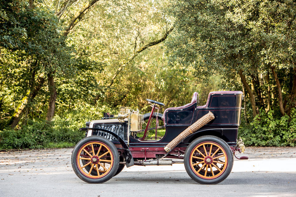 1903 Darracq Model H 12hp Twin-Cylinder Rear Entrance Tonneau  Chassis no. 3753