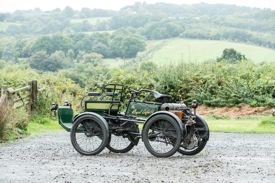 1901 Royal Enfield 4½hp Forecar Quadricycle  Chassis no. 16403