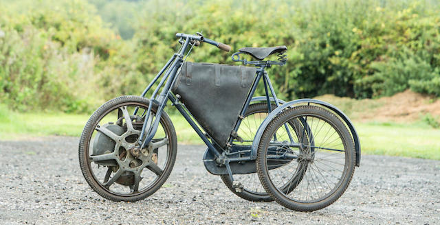 1901 Singer Motorwheel Tricycle