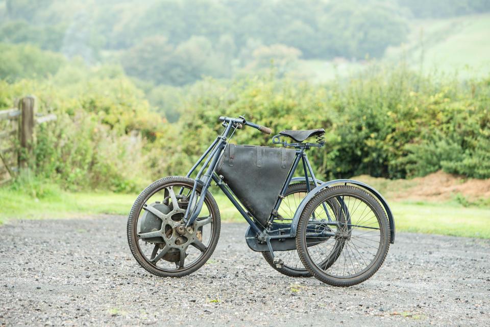 1901 Singer Motorwheel Tricycle
