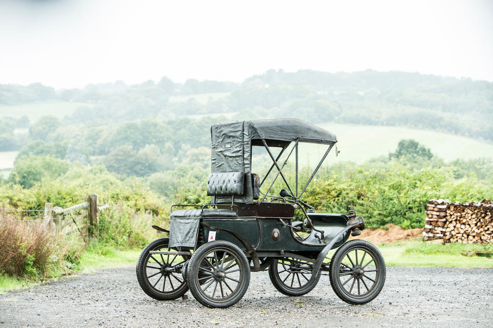 1903 Oldsmobile Model R 4½hp 'Curved Dash' Runabout  Chassis no. 1803