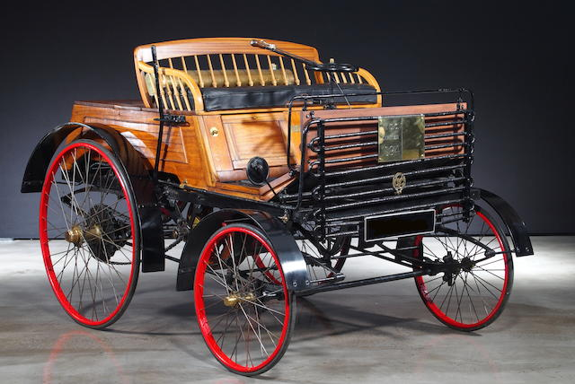 1894 Santler 3½hp Dogcart  Chassis no. 1036