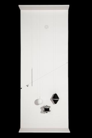 Takis  (Panayiotis Vassilakis) (Greek, born 1925) Pendule Musicale, 1966 200 x 80 x 20 cm.